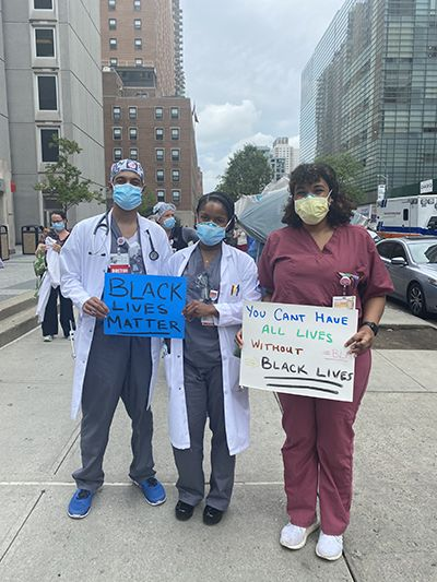 White Coats for Black Lives Cornell